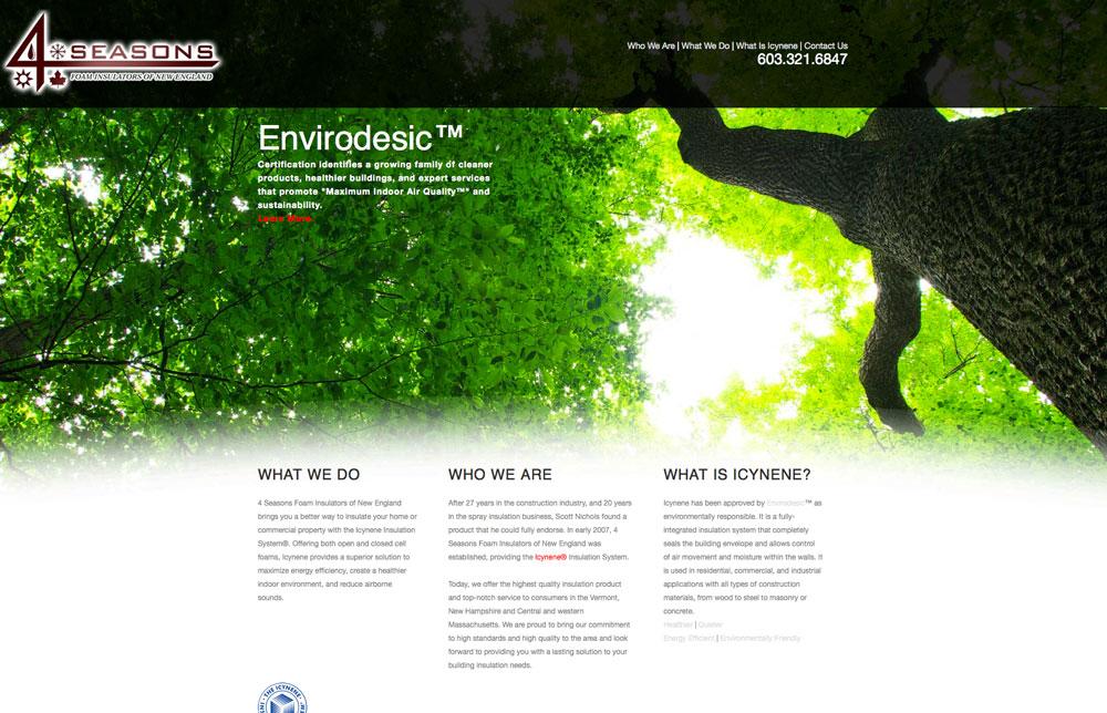 4seasons Website Design
